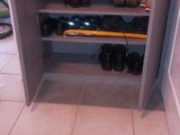 Rangement de chaussures sur mesure